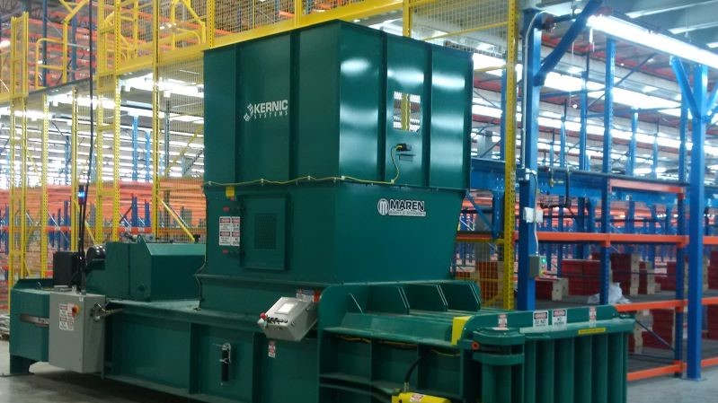 warehouse baler
